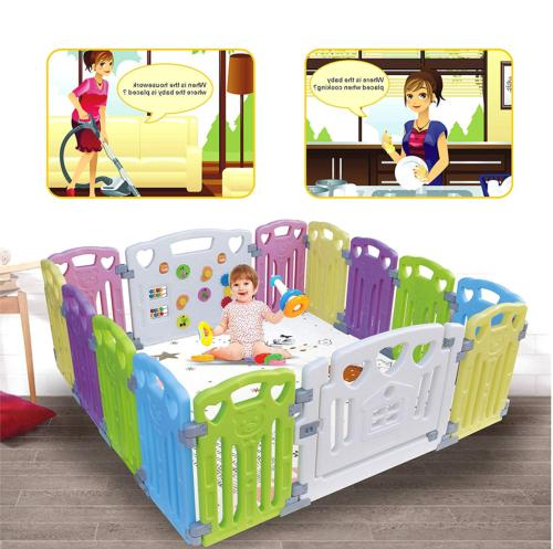 Baby Playpen Kids Activity Centre Safety Play Yard Home Indo