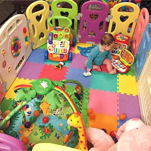 Baby Centre Safety Yard Home Indoor Outdoor with 14 Panels New Pen