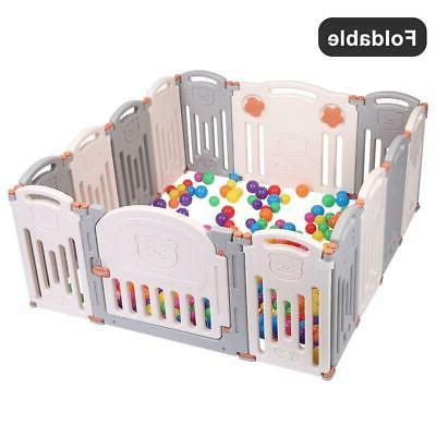 Baby Playpen Kids Panel Safety Play Yard Home