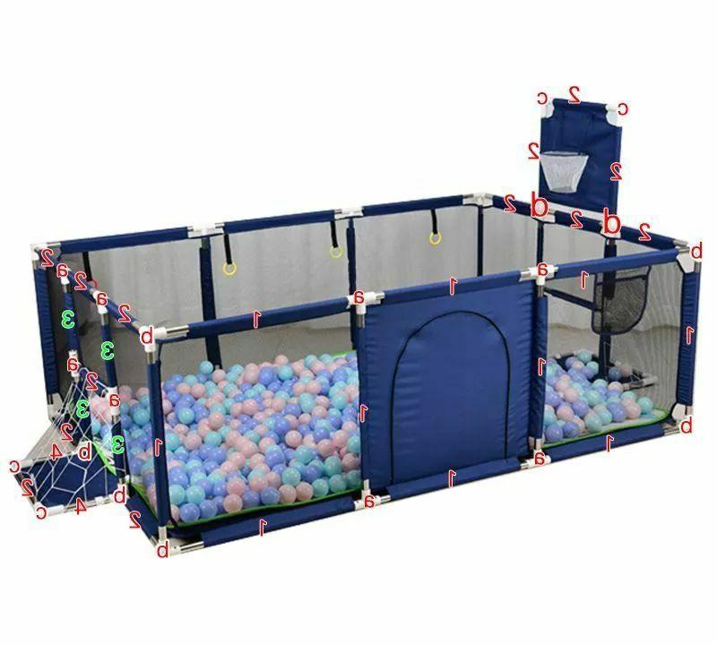 Baby Playpen Play Safety Fence Barrier
