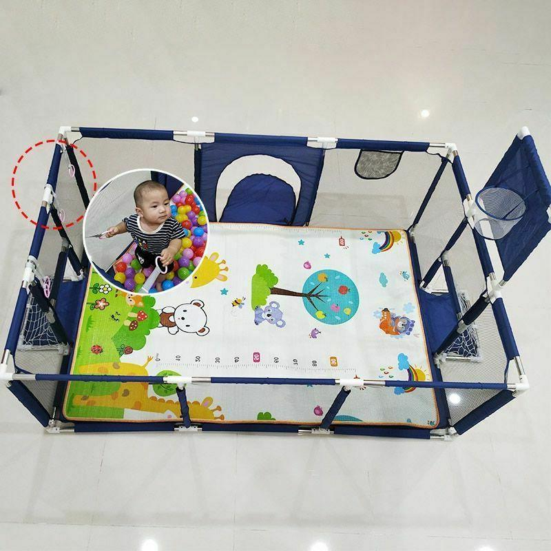 Baby Playpen Play Safety Yard Outdoor Fence Indoor Barrier