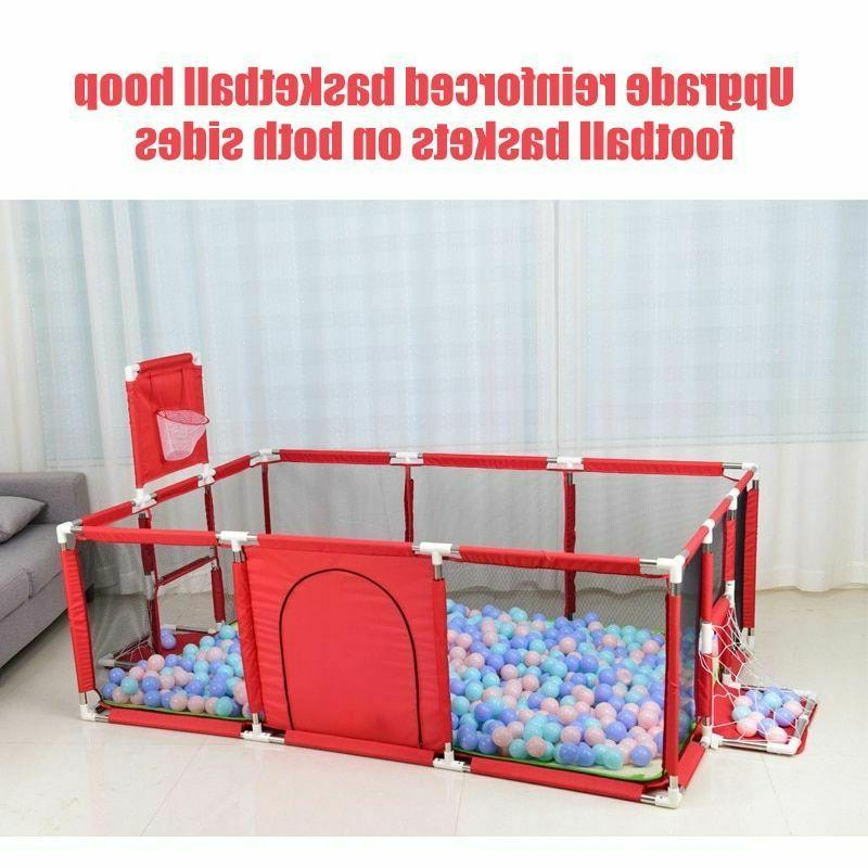 Baby Play Safety Yard Center Fence Ball Barrier