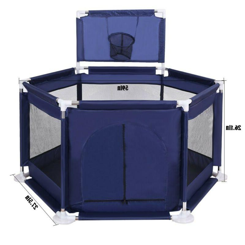 Foldable Safety Center Play Pen