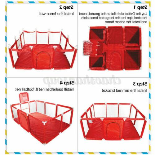 Baby Playpen Safety Yard Toddler Center Indoor Outdoor