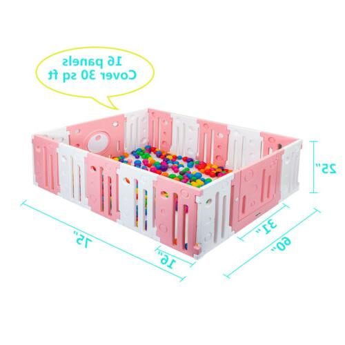 JOYMOR Playpen Fence Kids