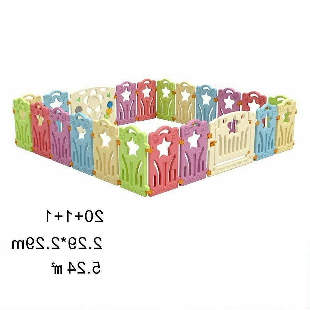 Baby Safety Fence Playpen Indoor Children Protection Playing