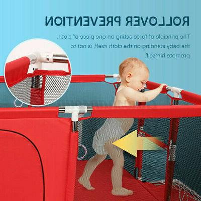 Baby Play Fence Activity Folding Indoor