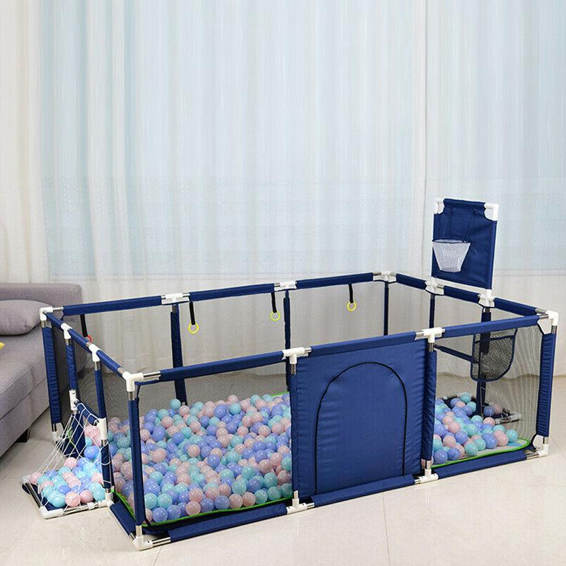 portable baby safety play yard activity center