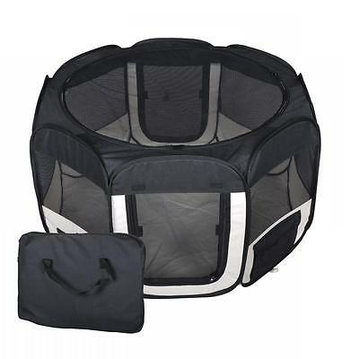 black pet dog cat tent