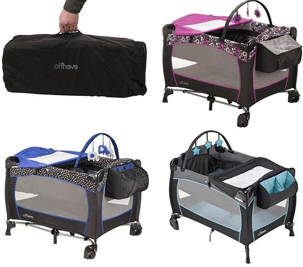 deluxe baby portable travel cot baby care