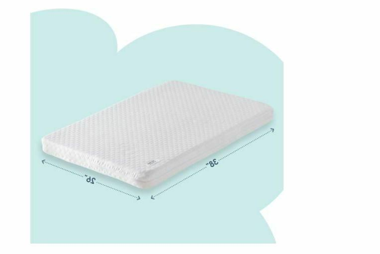 Hiccapop Dual-Sided Pack 'n Play Mattress Play Yard