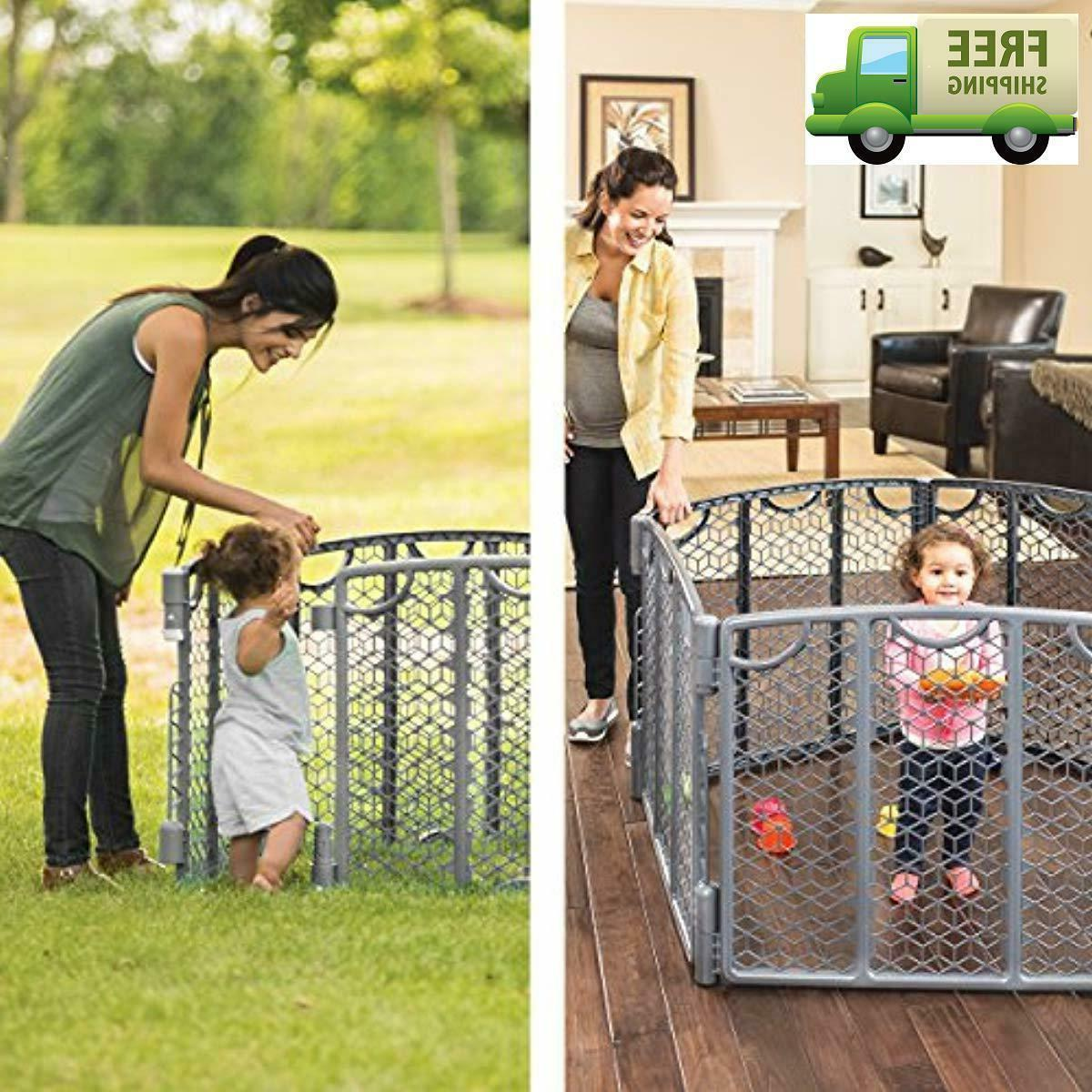 Foldable Baby Gate Fence