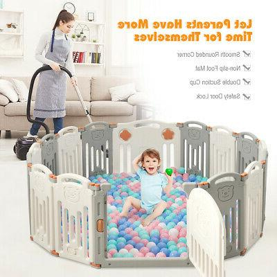 Foldable 16 Safety Play Yard Door