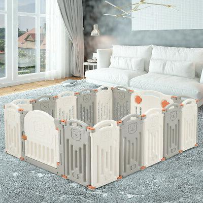 foldable baby playpen 16 panel activity center