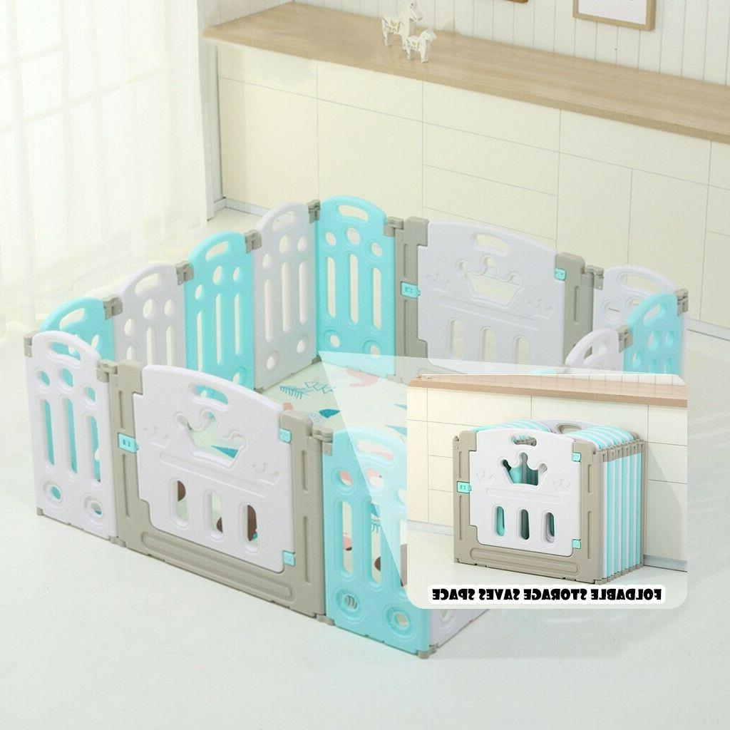 Foldable Baby Playpen Centre Home