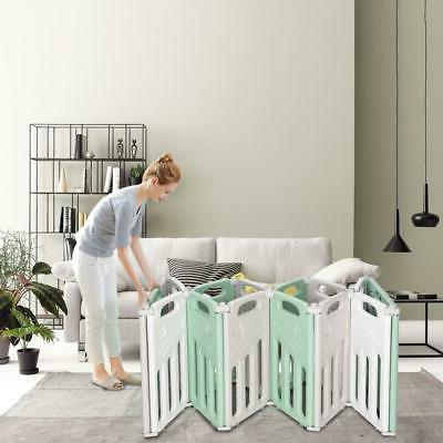 Foldable Portable 14 Panel Baby Kids Home Indoor Outdoor
