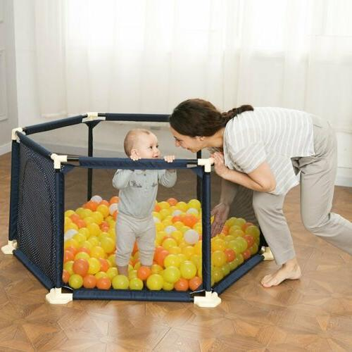 Folding Baby Play Yard With BE