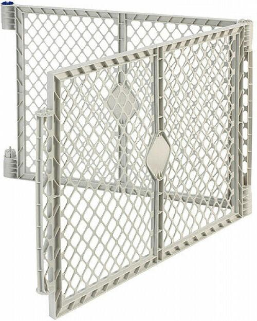 gray two panel superyard extension kit only