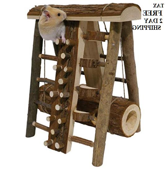 Hamster Small Animal Cage Dog Toy Activity  Course Small Pup
