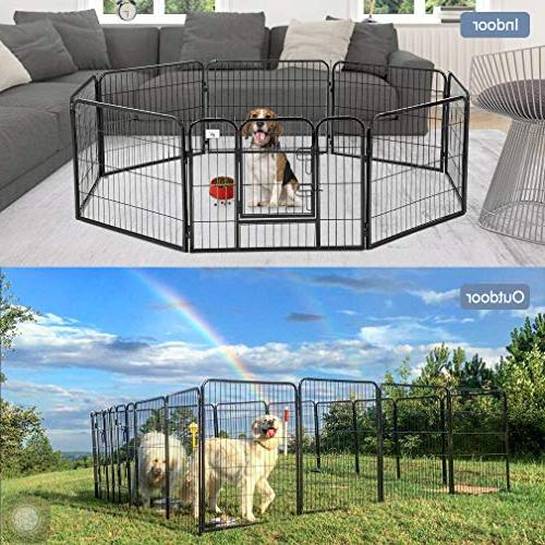 BestPet Dog Exercise Cat Fence S