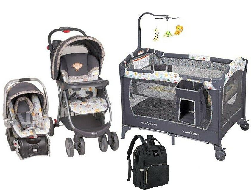 infant grow bundle of stroller with car