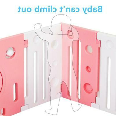 JOYMOR Baby Playpen Yards Baby Fence Kids