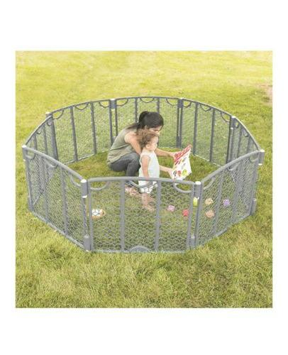 BEST! SHIP! wide Baby / Gate Indoor/out playyard