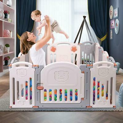 Larger Baby Safety Playpen Play Yards Baby Fence Kids Activi