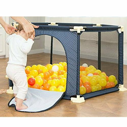 NEW 6-Panel Indoor Kids Play Yard Safety Infant BP