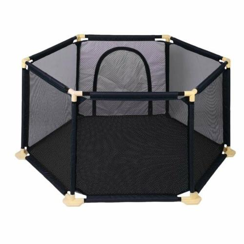NEW 6-Panel Indoor Outdoor Yard Infant Playard BP