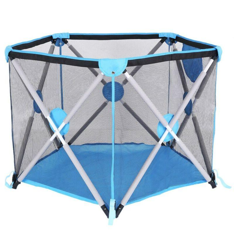 New Baby Playpen Portable Kids Safety Fence Play Center Yard
