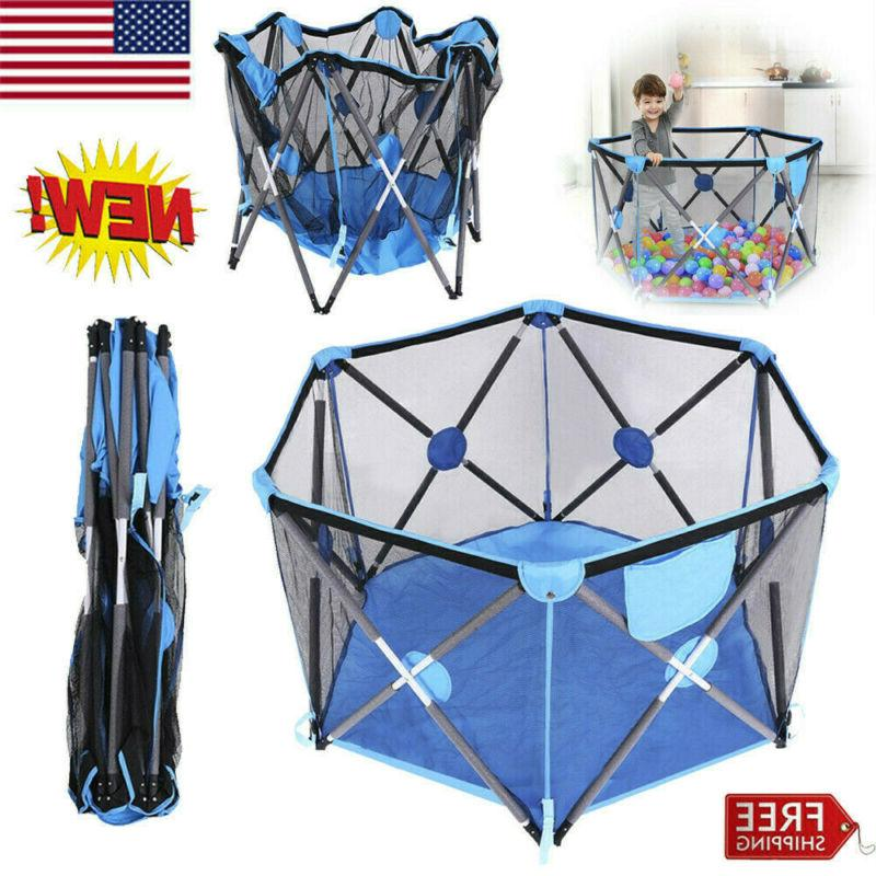 new baby playpen portable kids safety fence
