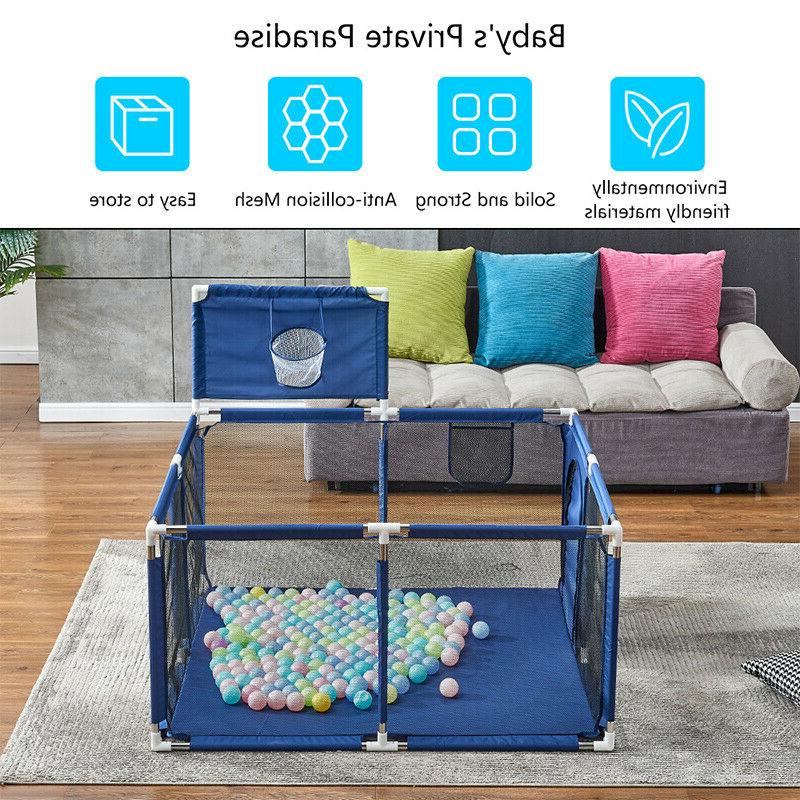 Nets Playing Area Play Yards Baby Kids Year Blue