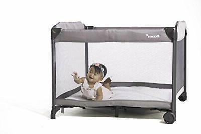 new room2 portable playard safe baby crib
