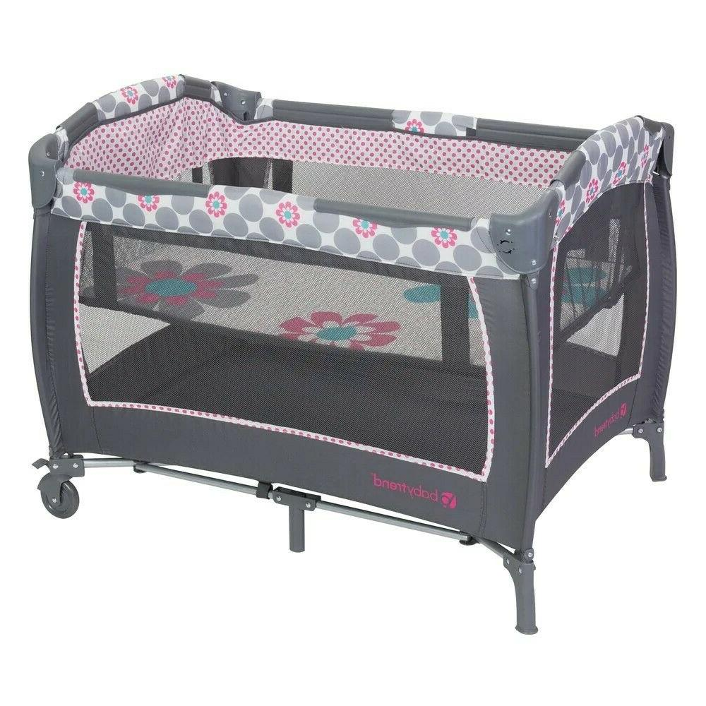 Nursery Center Play Daisy Dots Deluxe Baby Trend Baby Gear