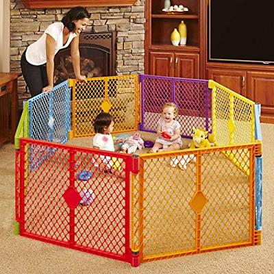 OpenBox Superyard Colorplay 8 Colorful Panel Play Yard With