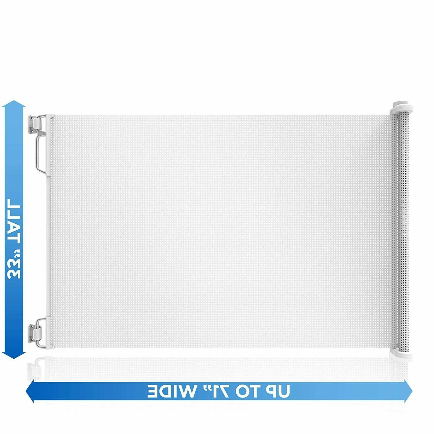 Perma Safety Outdoor Retractable Wide White