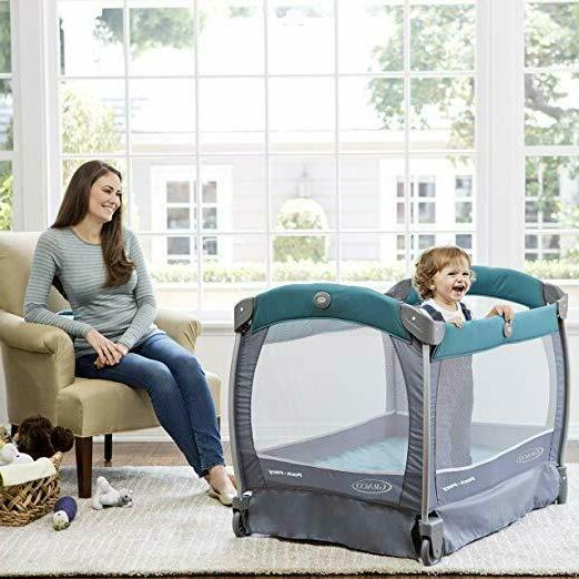 Graco Pack Nearby Napper Playpen & Play Changer