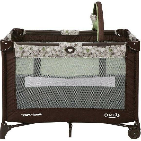 GRACO PACK PLAY ON THE GO PLAY YARD WITH