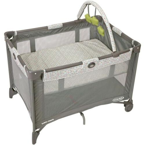 pack n play with bassinet play yard