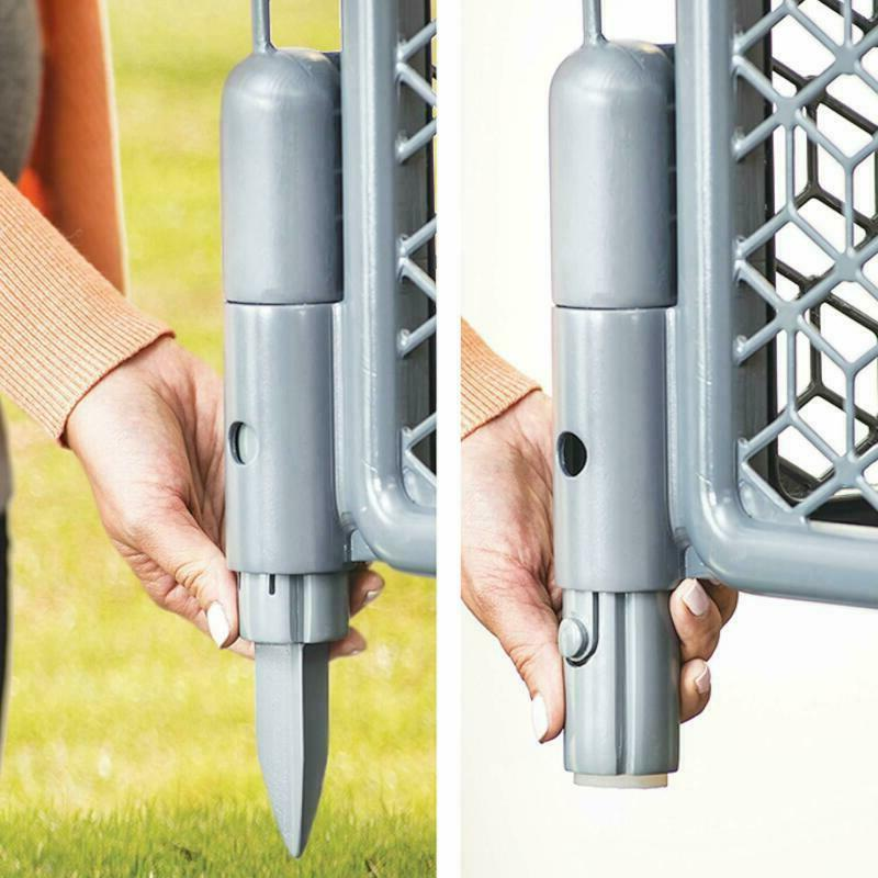 Play Indoor Outdoor Large Gate Play Cool Gray