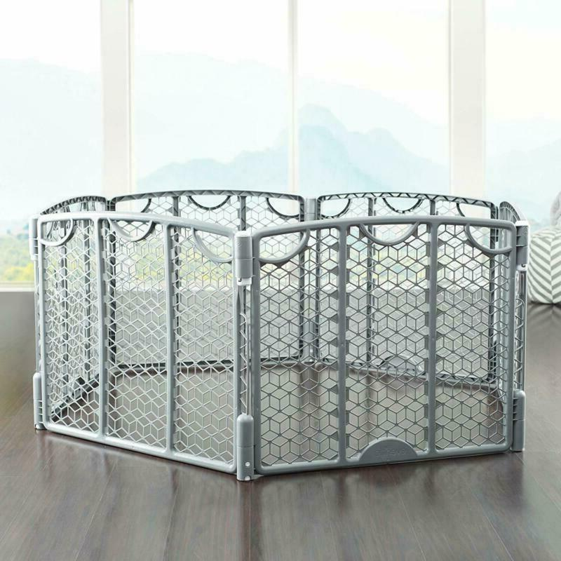 Play Baby Indoor Safety Gate Space Gray