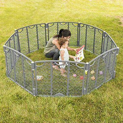 Evenflo Kids Safety Gate Indoor Playing Space