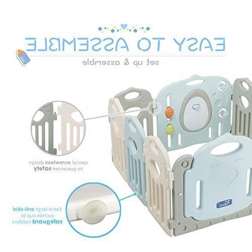 Baby Playpen - 14 Safety Yard, Indoor New Pen