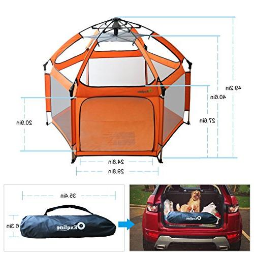 Baby Exqline Portable Infants and Babies, and Best Baby Playard and Outdoor