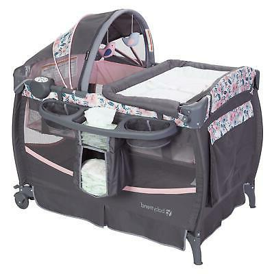 portable baby infant crib and changer pack