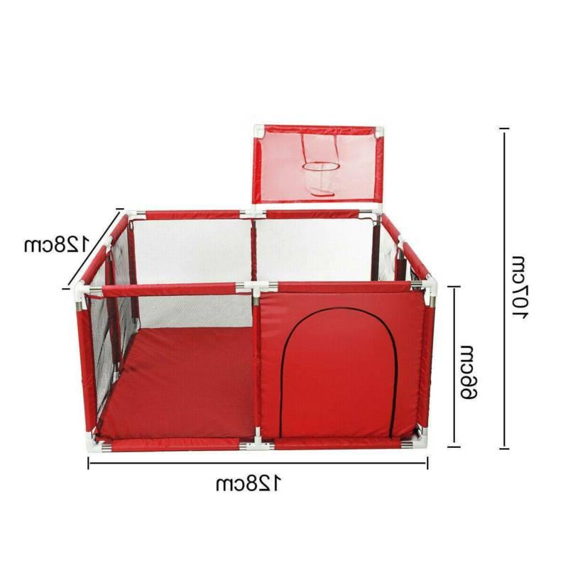 Portable Baby Yard Tent 4 Panel