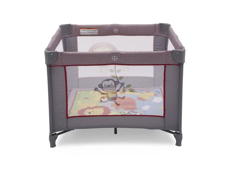 "Portable Napper 36"" X 36"" Playard Safari Play Foldable NEW"