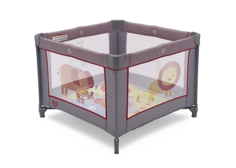 "Portable Napper 36"" X 36"" Playard Safari Play"