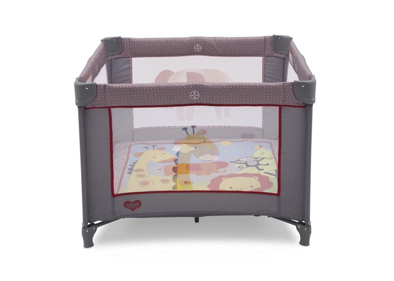 "Portable Napper Baby Playpen 36"" X Playard Safari Play Foldable NEW"
